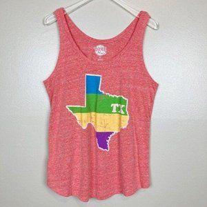 HOME FREE • TX Texas State Racerback Tank Top